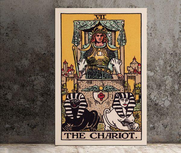 Ý nghĩa lá bài The Chariot