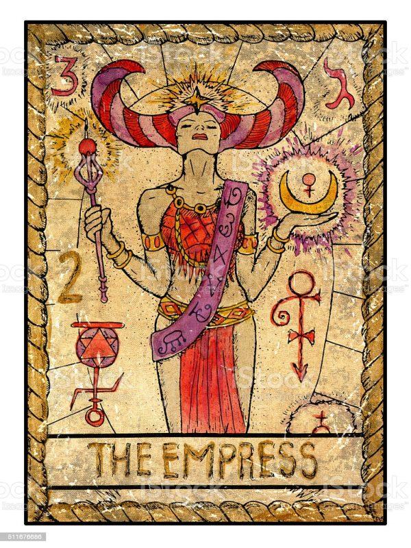 Ý nghĩa lá bài The Empress