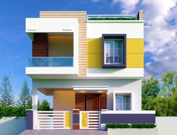 màu sắc nhà ở hợp phong thủy