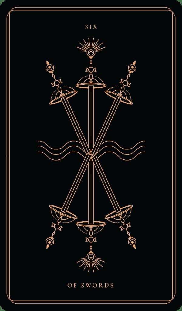 ý nghĩa lá bài six of swords
