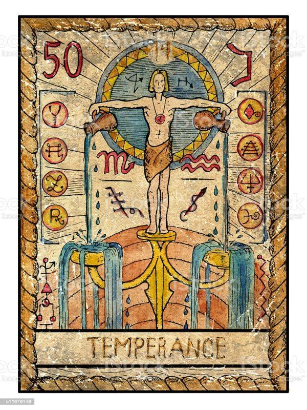 ý nghĩa lá bài Temperance