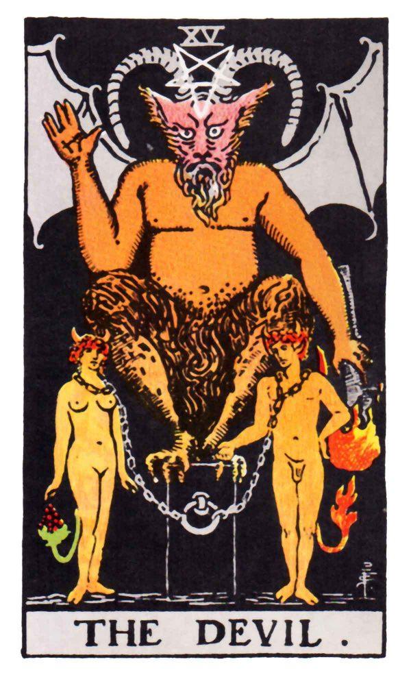 ý nghĩa lá bài The Devil