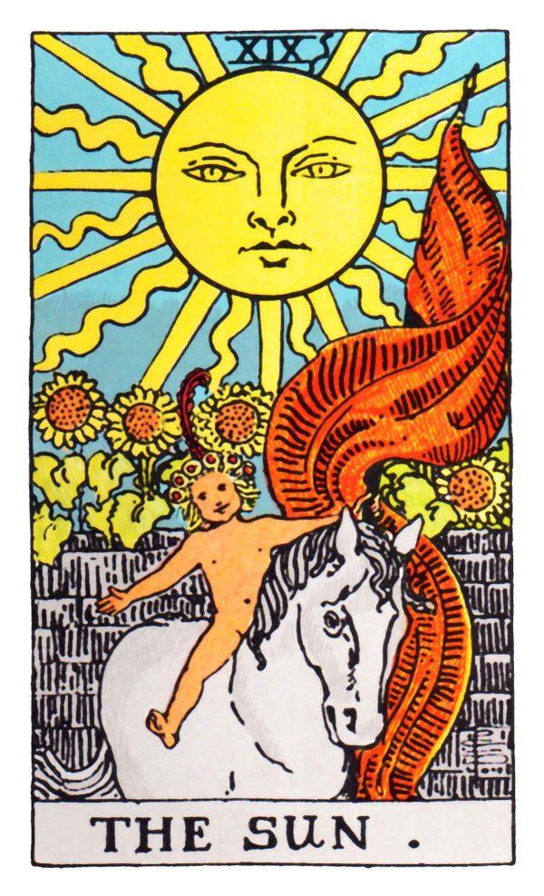 ý nghĩa lá bài The Sun