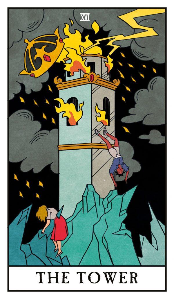 ý nghĩa lá bài The Tower