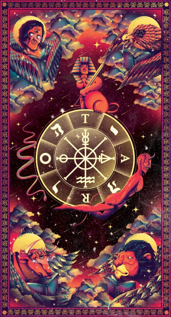 ý nghĩa lá bài Wheel of Fortune
