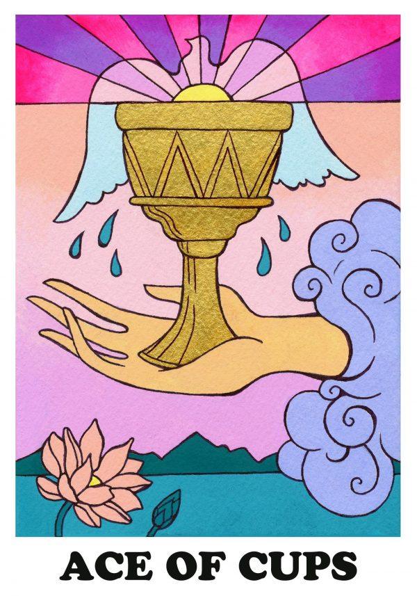 ý nghĩa lá bài Ace of Cups