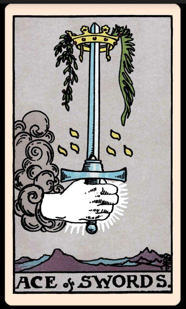Ý nghĩa lá bài Ace of Swords