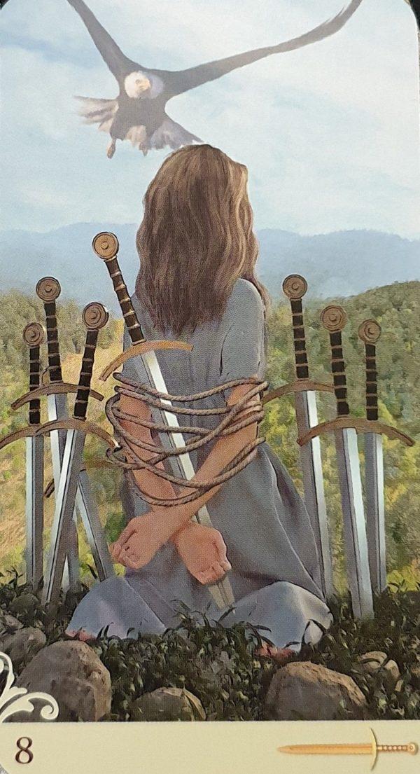 ý nghĩa lá bài Eight of Swords