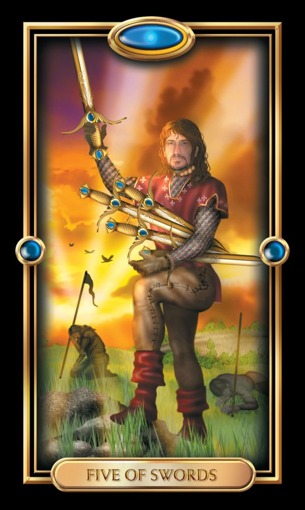 Ý nghĩa lá bài Five of Swords
