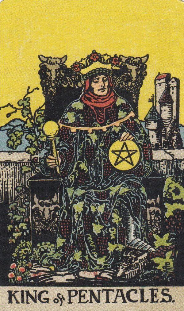 Ý nghĩa lá bài King of Pentacles