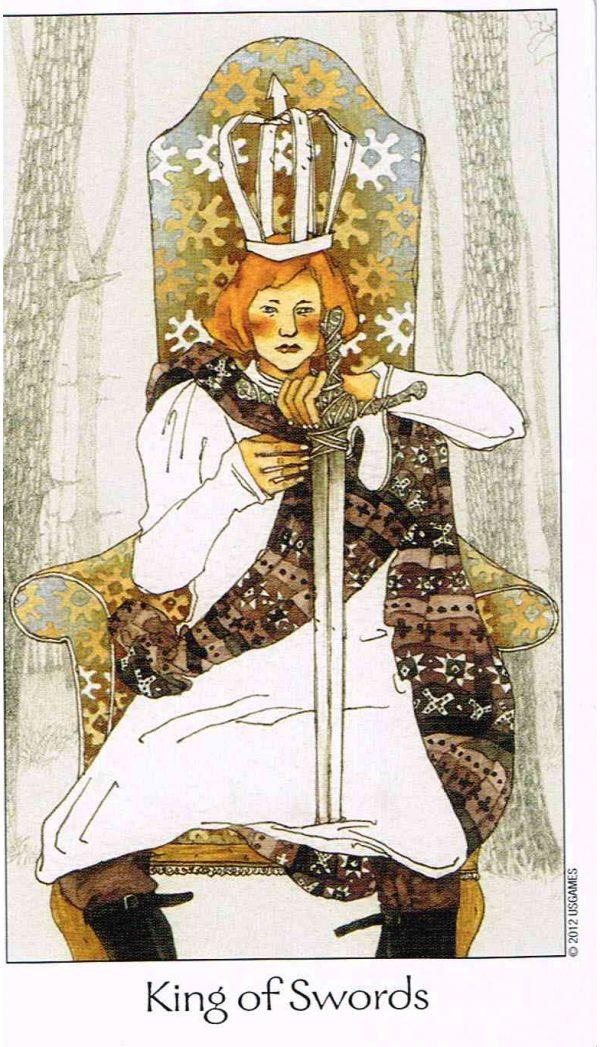 Ý nghĩa lá bài King of Swords