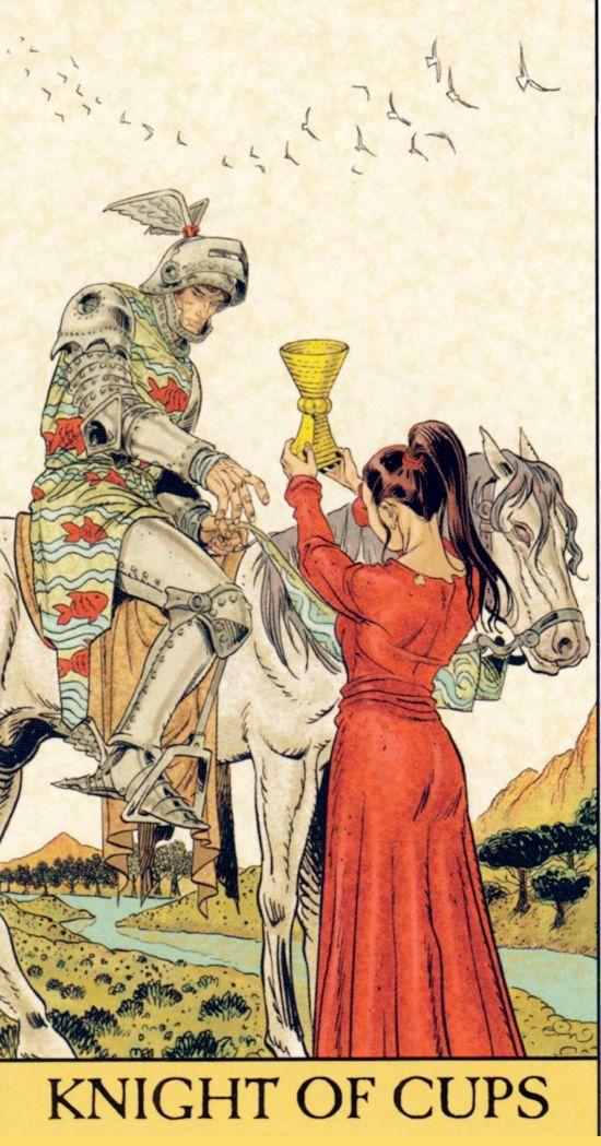 ý nghĩa lá bài Knight of Cups