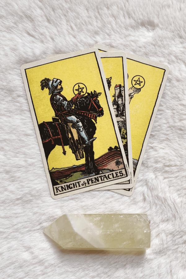 Ý nghĩa lá bài Knight of Pentacles
