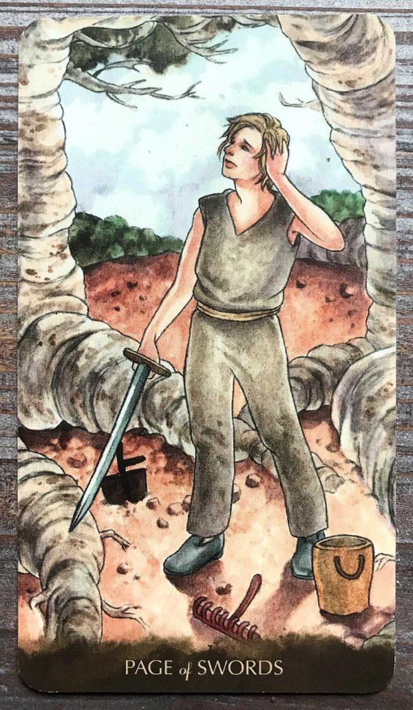 Ý nghĩa lá bài Page of Swords