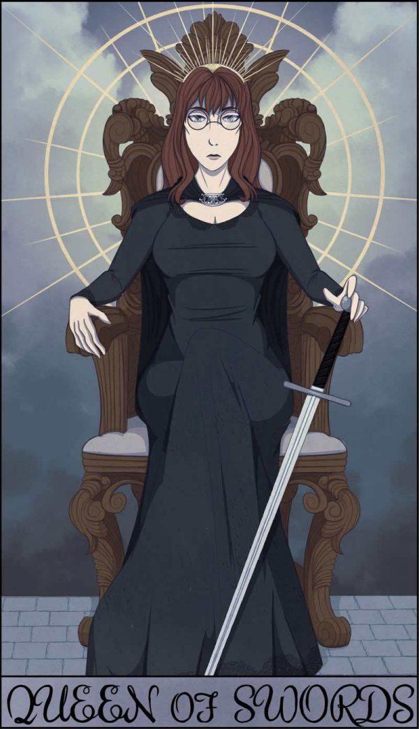 Ý nghĩa lá bài Queen of Swords