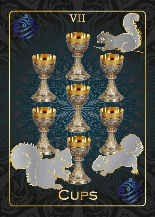 ý nghĩa lá bài Seven of Cups