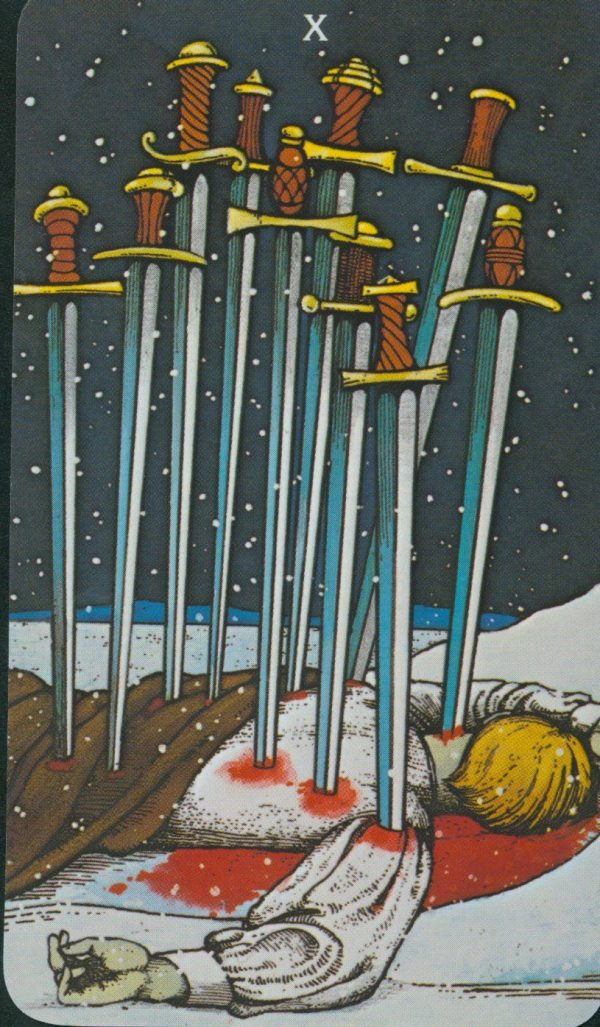 Ý nghĩa lá bài Ten of Swords