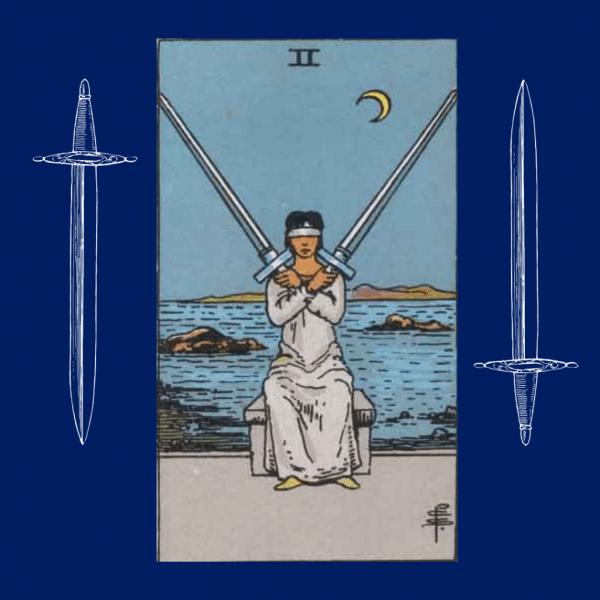 Ý nghĩa lá bài Two of Swords