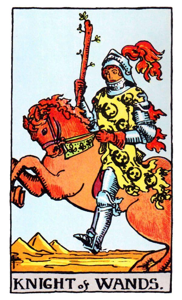 Ý nghĩa lá bài Knight of Wands