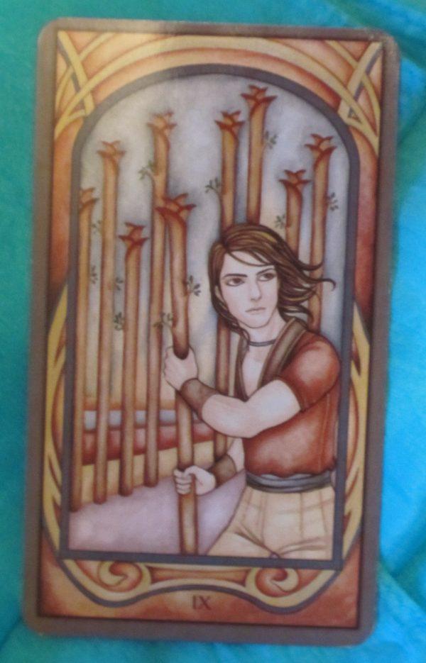 Ý nghĩa lá bài Nine of Wands