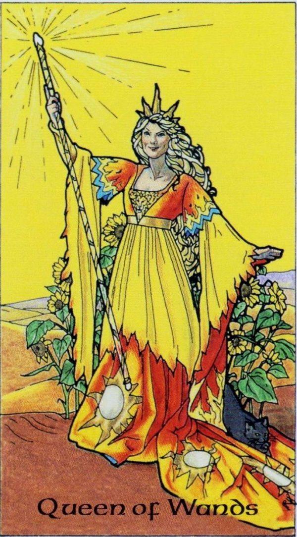 Ý nghĩa lá bài Queen of Wands