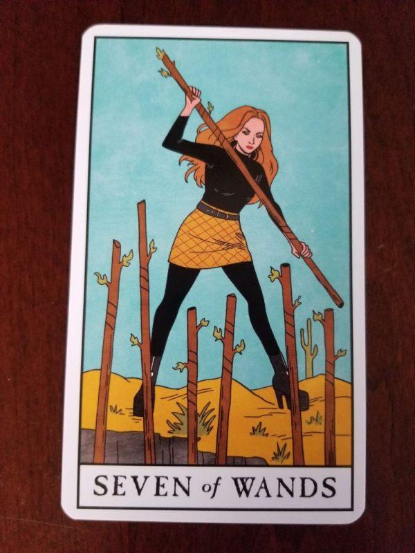 Ý nghĩa lá bài Seven of Wands