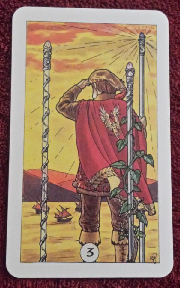 Ý nghĩa lá bài Three of Wands