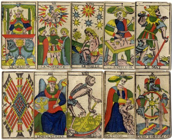 lịch sử bói bài tarot