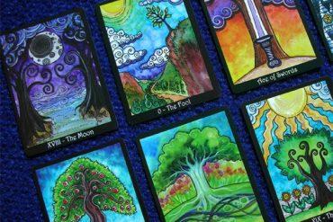 bộ bài tarot chủ đề về thiên nhiên