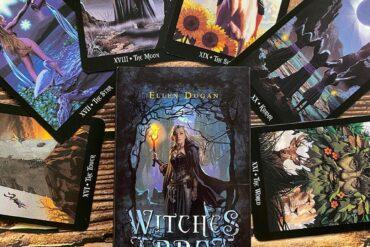 tarot chủ đề về phù thủy và phép thuật